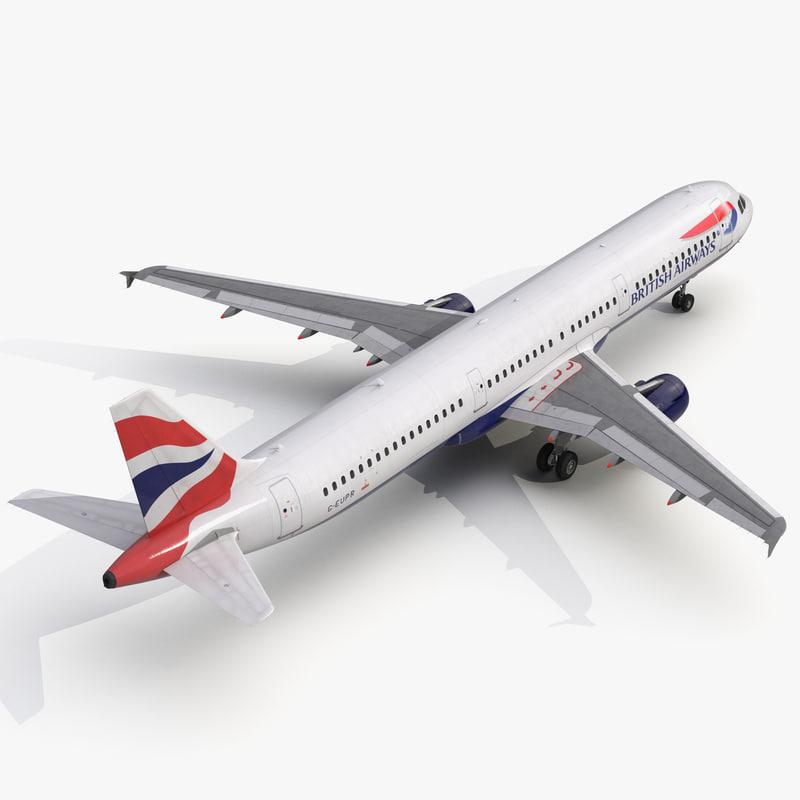 3d model of Airbus A321 British Airways 01.jpg