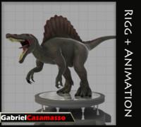 3d model of spinosaurus spinosaur