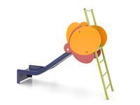 kids playground slide 3d max