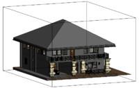 3d 2 storey model