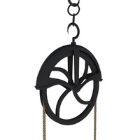 x antique pulley