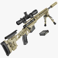 M2010 Enhanced Sniper Rifle desert