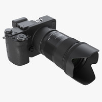 3d photoreal mirrorless camera sigma