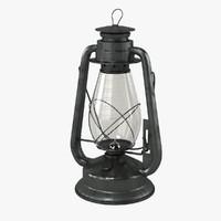 oil lantern 3d max