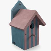 house birdhouse bird 3d 3ds