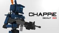 3d model chappie minecraft