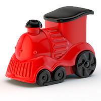 toy locomotive 3d 3ds