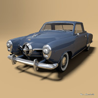 studebaker champion starlight 3d model