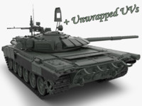 t 72 main battle tank 3d max