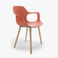 3d model of hal armchair vitra chair