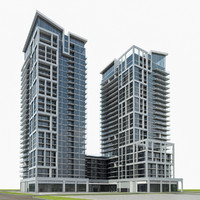 residential building exterior 3d max