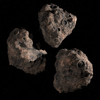 Three Asteroids