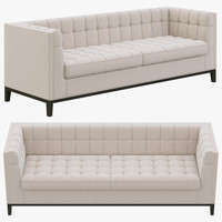 3d eichholtz aldgate sofa model