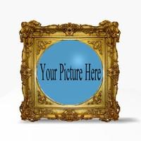 antique picture frame c4d
