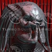 classic predator 3d blend