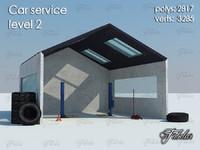3ds car service level 2