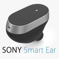 3d model sony ear
