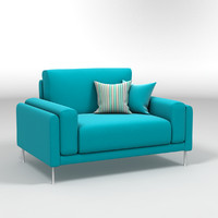 design link sofa 1 3d model