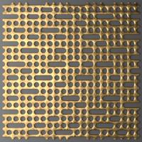 panel lattice grille 3d model