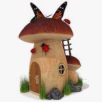 3d 3ds fantasy house