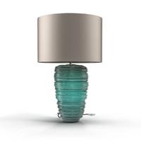 Porta Romana THREAD LAMP Turquoise