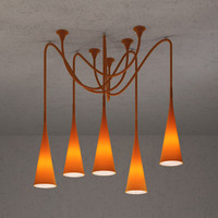 3d model foscarini uto light