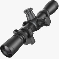 rifle optical scope leupold 3d max
