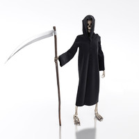 death scythe 3d model