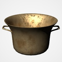 3d old cauldron