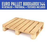 3d wood pallet