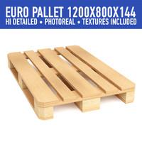 obj wood pallet