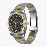 Rolex Datejust II Steel Gold Black