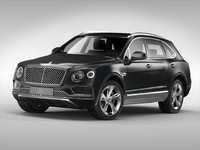 3d bentley bentayga 2017