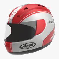 3d model motorcycle helmet
