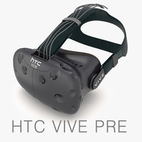 htc vive pre headset 3ds