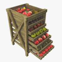 fruit box 3d max