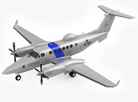 3ds beechcraft super king air