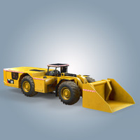 load haul dump cat 3d model