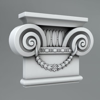classical decoration ornamental 3d model