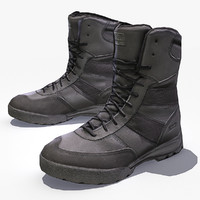 3d model swat boots hrt