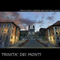 cinema4d trinità dei monti piazza