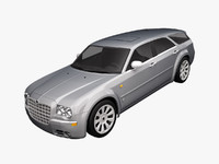 3d chrysler 300c touring 2009 model