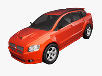 3d dodge caliber srt-4 model