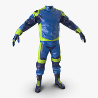 moto gear generic 2 3d model