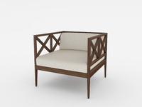 AZIMUTH armchair