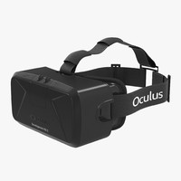 3d c4d virtual reality headset oculus