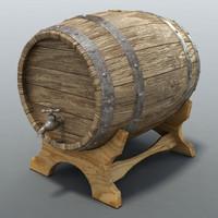 3d max barrel