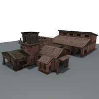 c4d ruined house games
