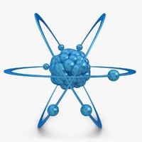 3d model atom 2