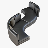 3d minotti seymour seating model